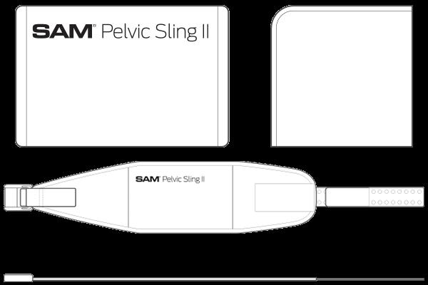 """Stabilizator zdjelice """"Sam Pelvic Sling II"""""""