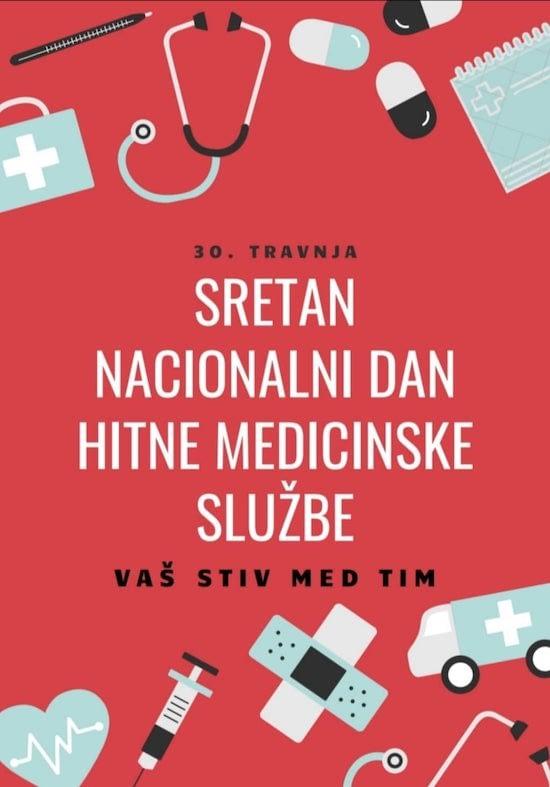 sretan nacionalni dan hitne medicinske službe
